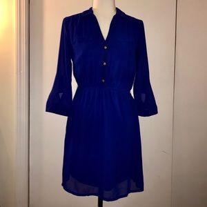 Blue Charlotte Rousse Suit dress